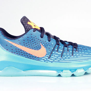Nike Big Kid's KD 8 VIII GS OKC Road Game