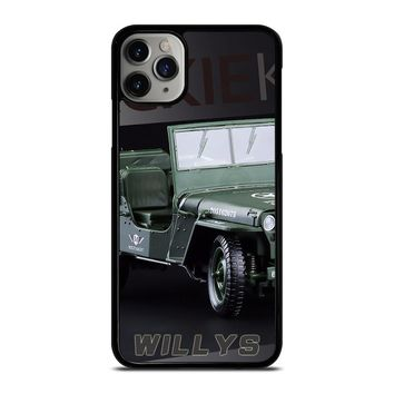 JEEP WILLYS TRUCK iPhone Case Cover