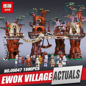 Star Wars Force Episode 1 2 3 4 5 LEPIN 05047  Plan series Village Model Educational Building Blocks Bricks Children  Toy for Christmas Gift Legoing 10236 AT_72_6
