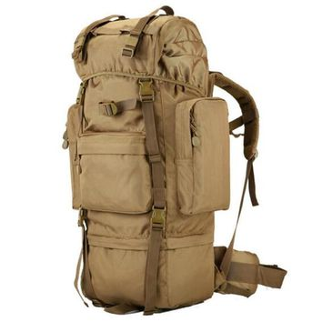 new military backpack waterproof 1680 D Oxford bags travel 70 l backpack high grade 17-inch flat-panel laptop boy backpack