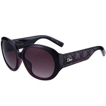 Christian Dior Lady In Dior 2 Plum Sunglasses 307776