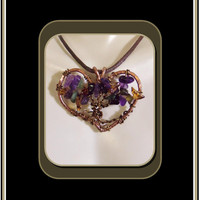 Healing Heart, tree of life jewelry, Gemstone Healing jewelry, tree of life, healing jewelry,Amethyst,most popular,mother daughter jewelry