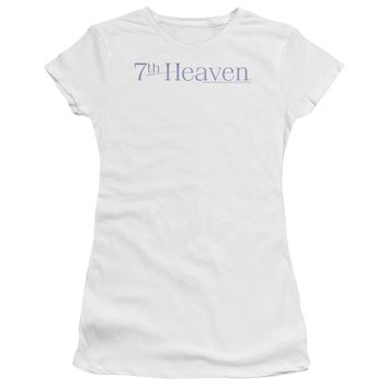 7 Th Heaven - 7 Th Heaven Logo Premium Bella Junior Sheer Jersey