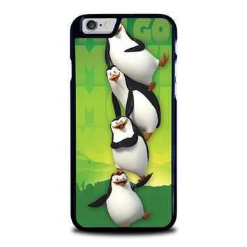 the penguins of madagaskar all character iphone 6 6s case cover  number 1
