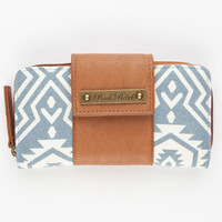 Rock Rebel Southwest Print Wallet Blue One Size For Women 23831020001