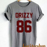 Drake Drizzy Shirt Drizzy 86 Logo Unisex T Shirt Tee Size D-2