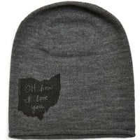 Megan Lee Designs State Graphic Knit Beanie