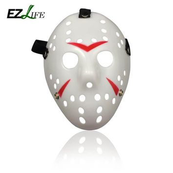 New 2018 Halloween Mask Jason Voorhees Horror Movie Hockey Mask Halloween Party Cosplay Scary Mask CT0247