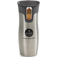 Keurig Silver Stainless Steel Travel Mug