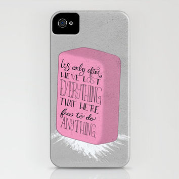Fight Club iPhone Case by Drew Wallace | Society6