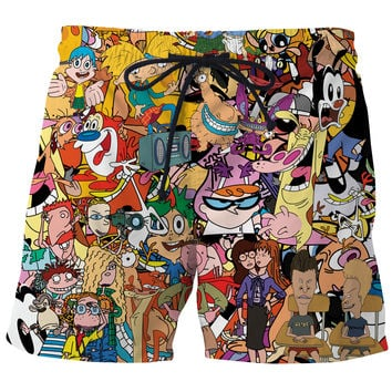 Totally 90s Board Shorts