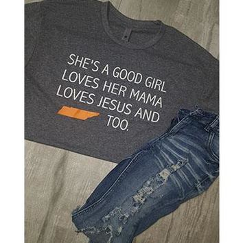 She's A Good Girl Tennessee Tee