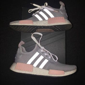 Adidas NMD Clear Onix Vapour Pink Womens