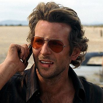 "The Hangover Movie ""Phil"" Costume Bradley Cooper Aviator Sunglasses 8405"