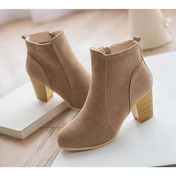 Short Ankle Boots up to Size 9 (25cm EU 40)