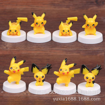 Pokémon Pikachu doll eight models