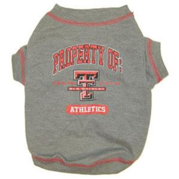 Texas Tech Pet Shirt LG