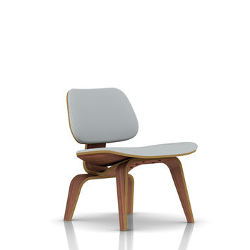 Eames® LCW / Molded Plywood Upholstered Lounge Chair