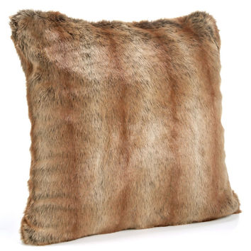 Coyote Faux Fur Pillows by Fabulous Furs
