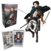 Attack on Titan Levi Real Action Heroes Figure - Medicom - Attack on Titan - Action Figures at Entertainment Earth