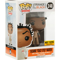 "Funko Orange Is The New Black Pop! Television Suzanne ""Crazy Eyes"" Warren Vinyl Figure Hot Topic Exclusive"