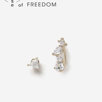 House of Freedom Cubic Zicornia Earrings | Topshop
