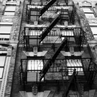New York City Apartment 5x7 Photography Print NYC by thebqe