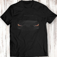 Audi A6 T-Shirt Black Tee Women Men Gift Idea Garment Apparel 100% Cotton