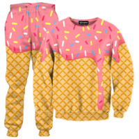 Ice Cream Dripping Tracksuit