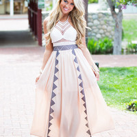 Can't Take My Eyes Off You Crochet Halter Dress