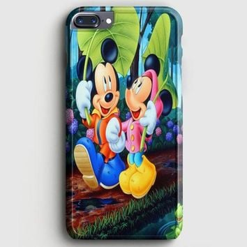 Romantic Mickey Mouse And Minnie Mouse Japanese iPhone 8 Plus Case | casescraft