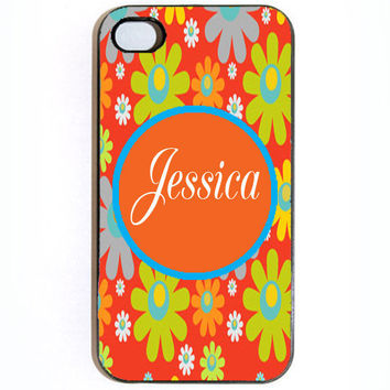 iPhone 4 4s Custom Personalized Hard snap on iPhone by KustomCases