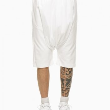Low pants from the S/S2015 Mavranyma collection in white