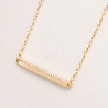 2016 New Fashion Square Bar Clavicle Necklace for Women Simple Fine Diy Pendant Necklaces Long Chain Necklaces Party Gifts
