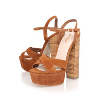 **Tan High Heel Sandals by Kurt Geiger - New In This Week - New In