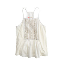 crewcuts Girls Embroidered Bib Tank