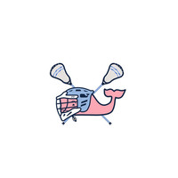 Lax Whale Sticker Pack (5)