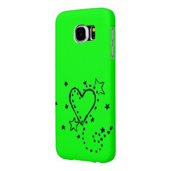 Heart Doodle Samsung Galaxy S6 Case Samsung Galaxy S6 Cases