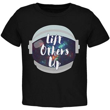 Anti-Bullying Astronaut Space Lift Others Up Toddler T Shirt