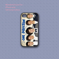One Direction Signature - Print on hard cover for iPhone case and Samsung Galaxy case