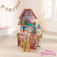Disney Belle Enchanted Dollhouse with Furniture, by KidKraft - Walmart.com