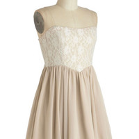 The Lace for Romance Dress