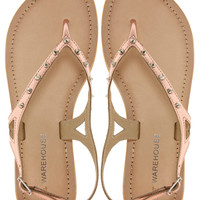 Warehouse Salina Rose Thong Sandals