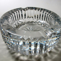 Waterford crystal ashtray glass