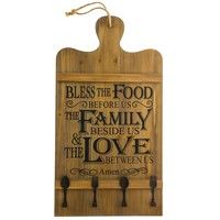 Cutting Board Wall Decor with Hooks