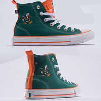 Miami Hurricanes Official NCAA Skicks Unisex High Top Sneakers