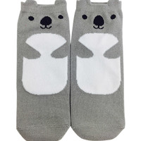Koala Ankle Socks