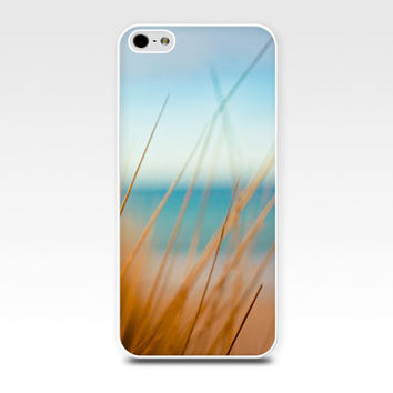 iphone 4 4s iphone 5 case nautical beach scene abstract photography fine art photo coastal ocean summer sand dunes cell phone golden teal