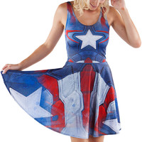 Captain America Suit Skater - LIMITED