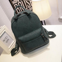 Fashion Women Backpack Mochila Women's Leather Travel Bag